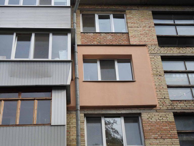 Утепление фасада квартиры нашего клиента.