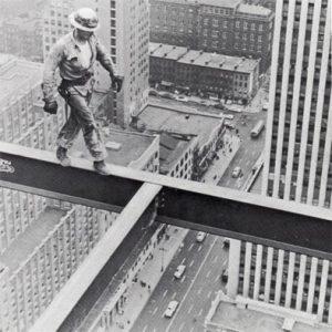 Высотники на строительстве небоскребов