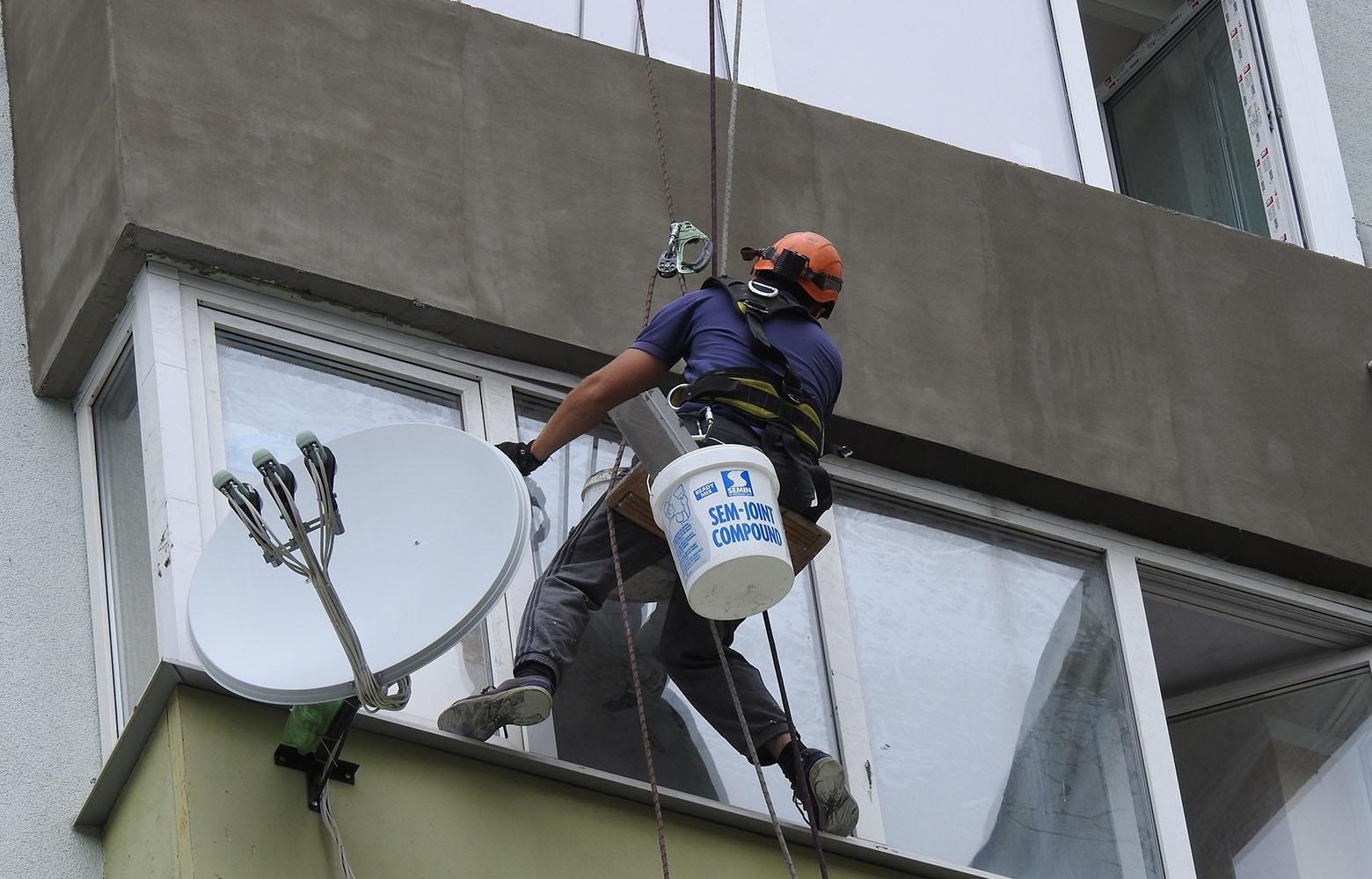 Фасадные работы в Киеве.