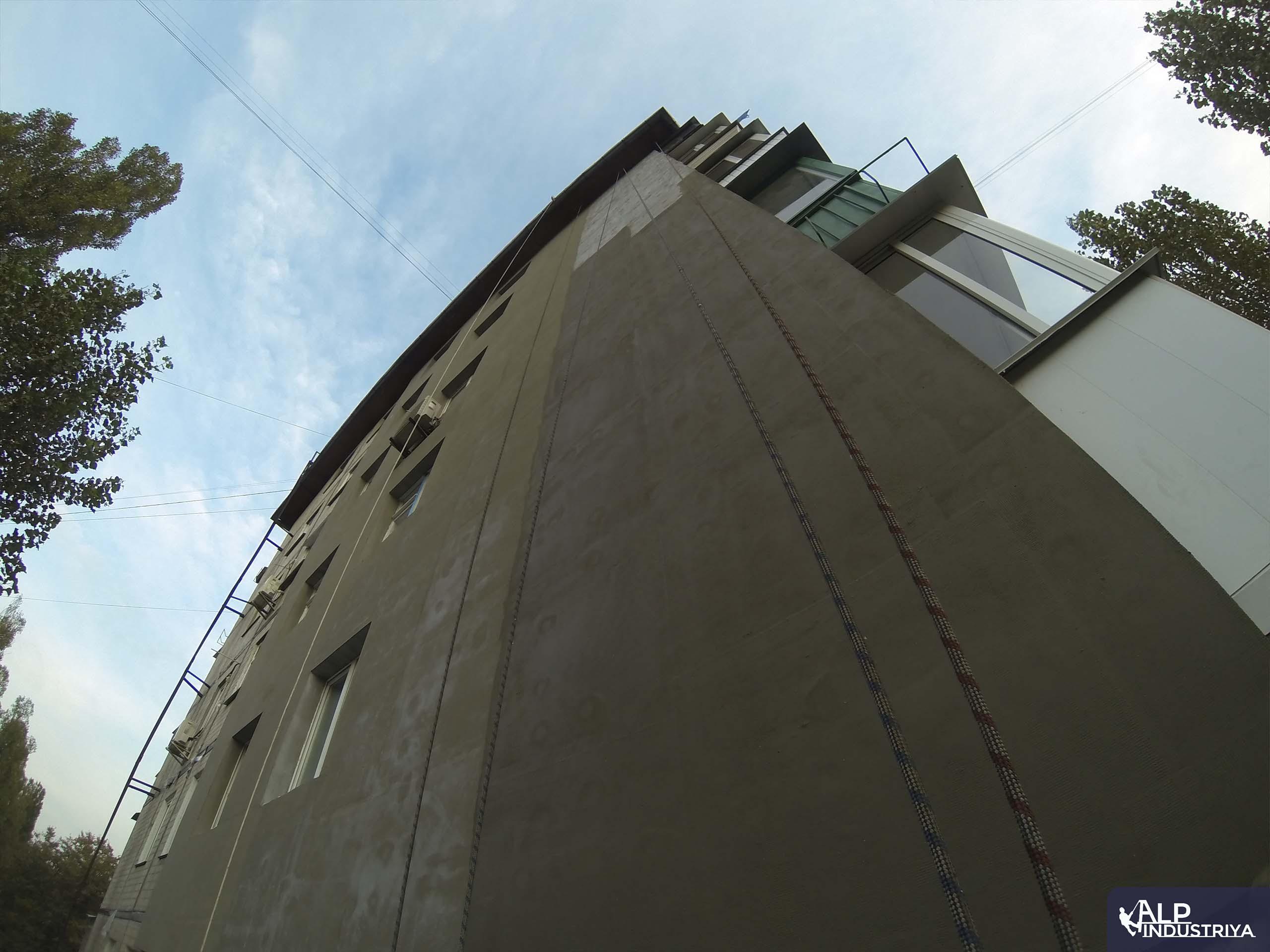Теплоизоляция стен и углов многоквартирного дома промальпами-2