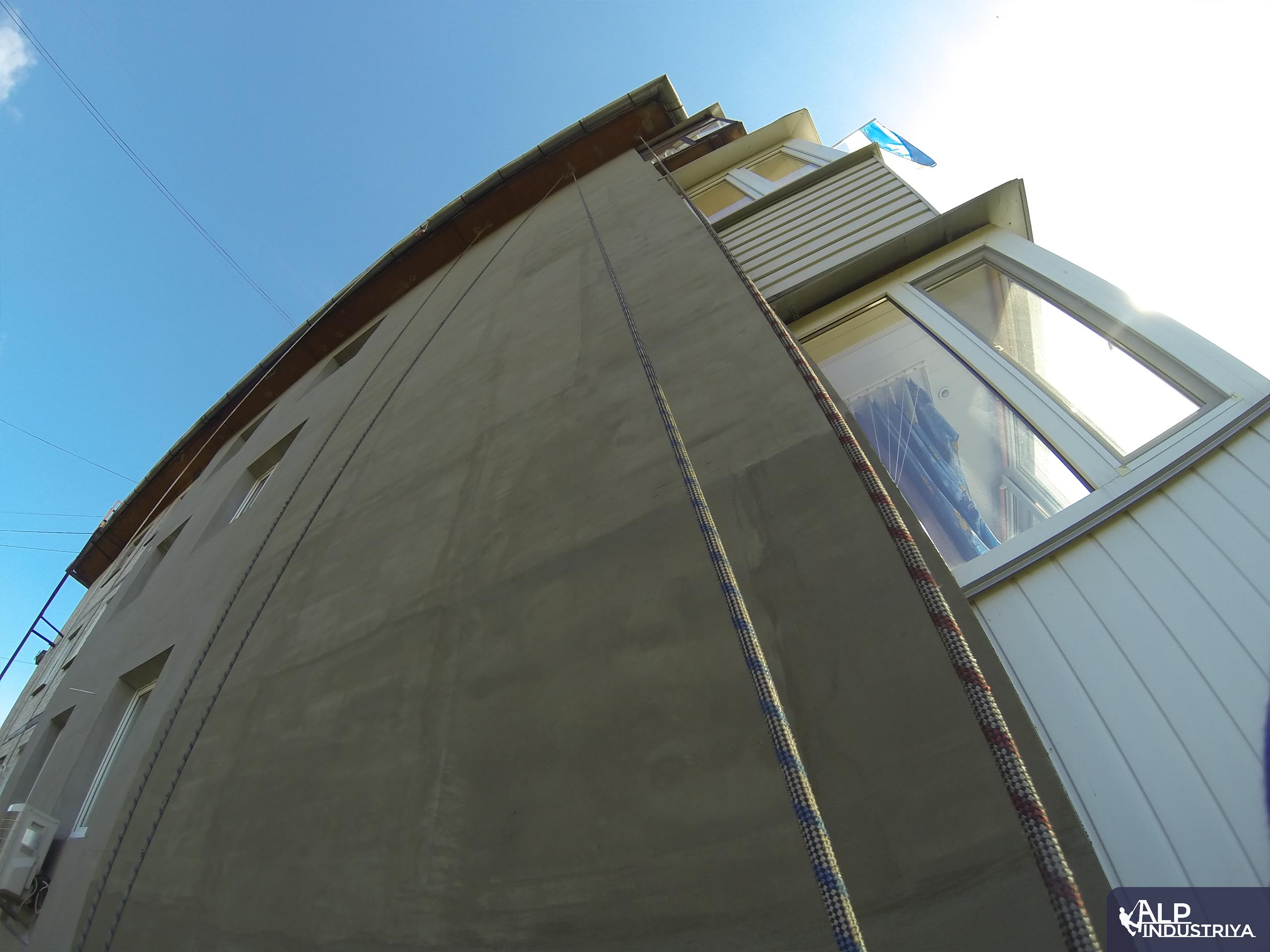 Теплоизоляция стен и углов многоквартирного дома промальпами-4