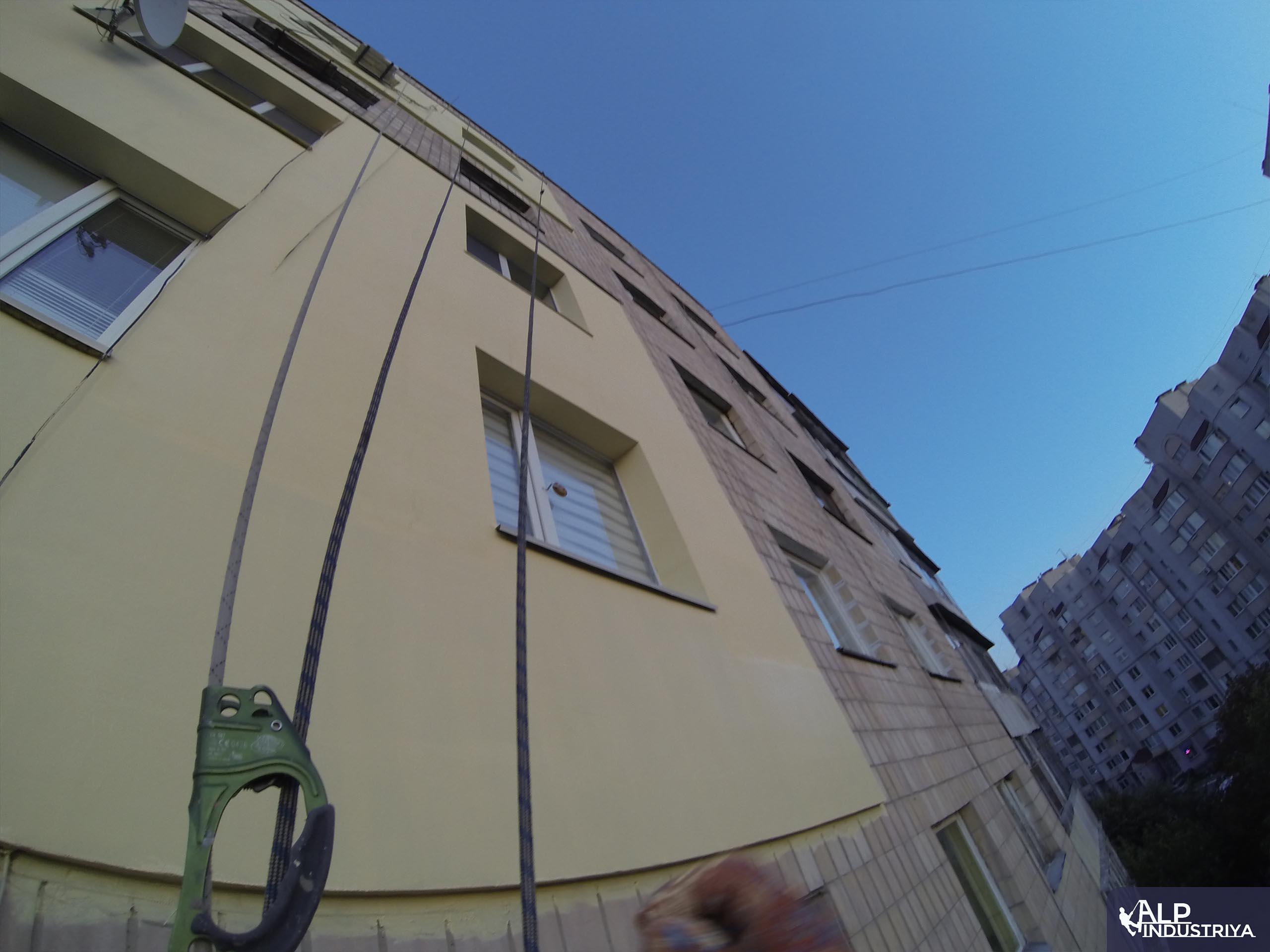 Пример работы по теплоизоляции стен дома одного из наших клиентов-1