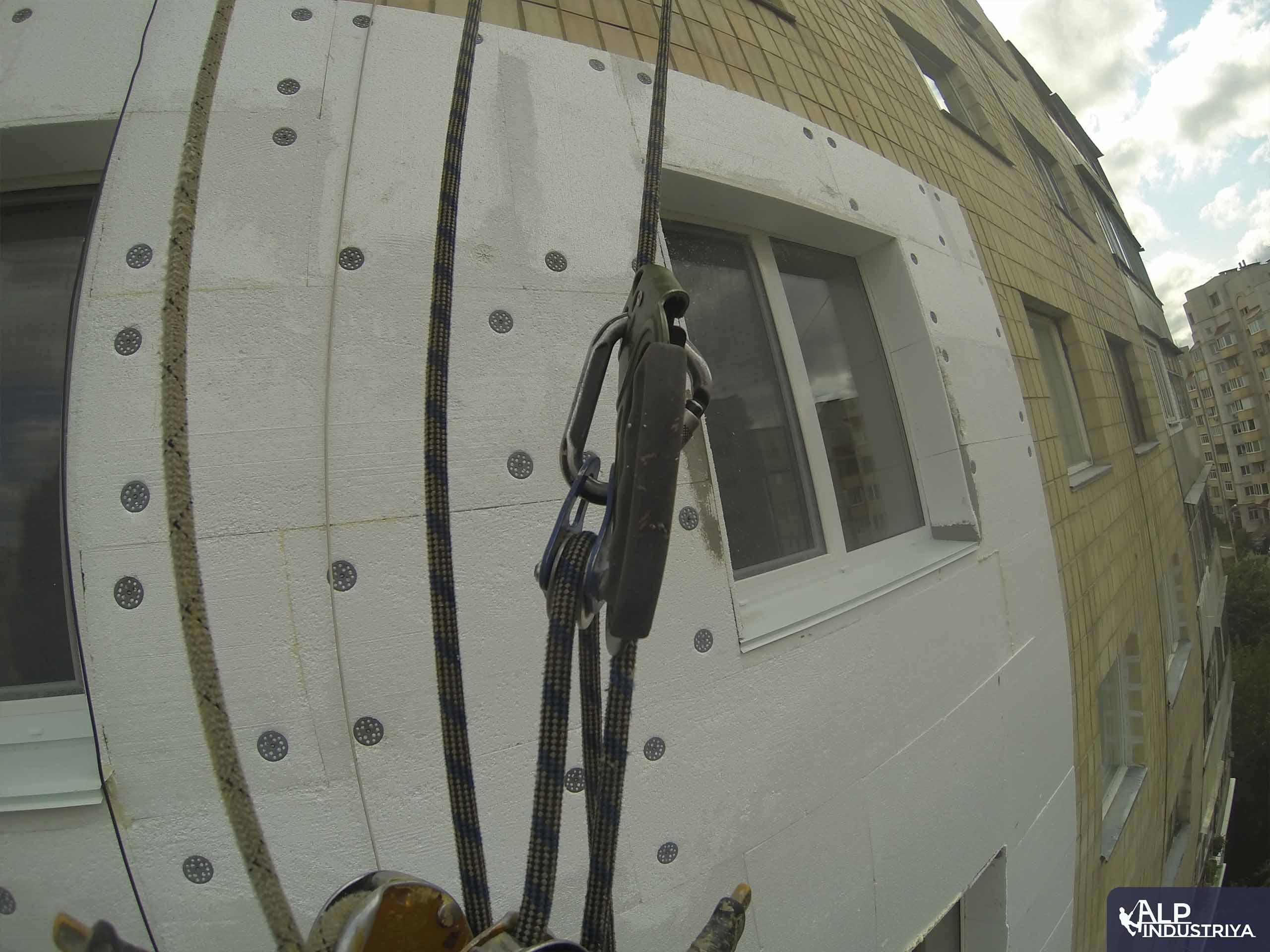 Пример работы по теплоизоляции стен дома одного из наших клиентов-4