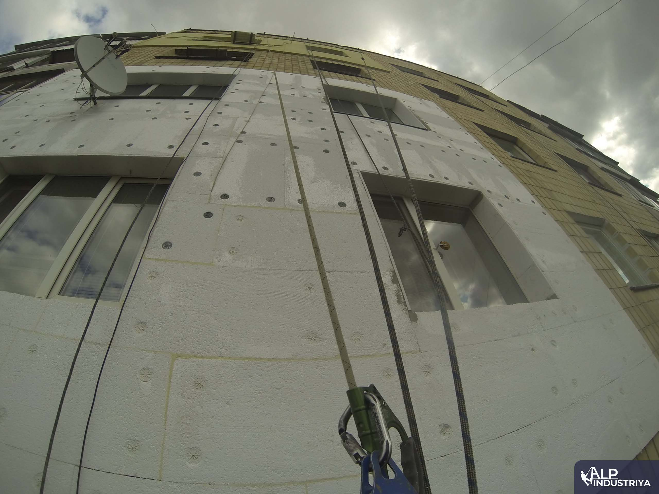 Пример работы по теплоизоляции стен дома одного из наших клиентов-5