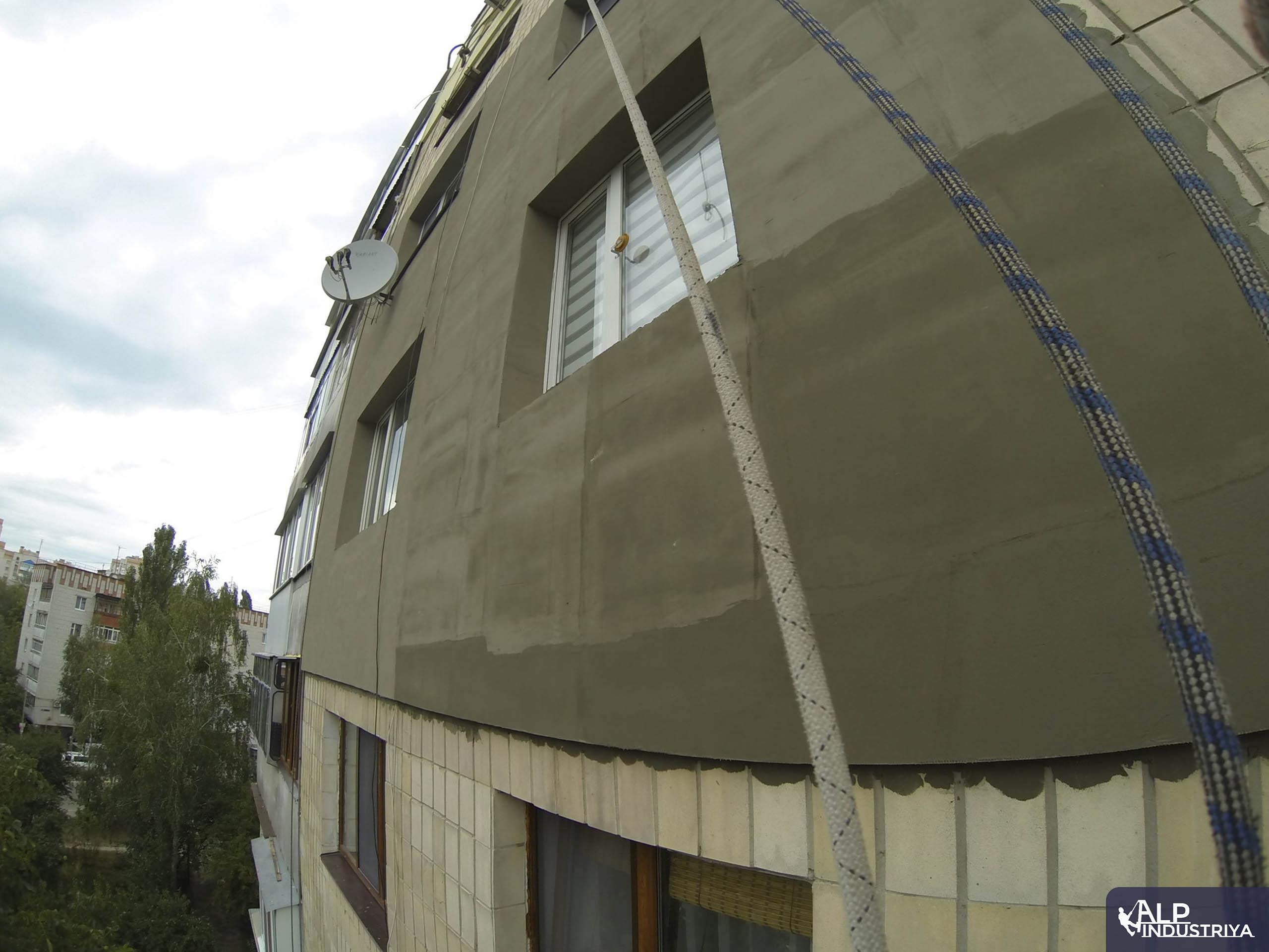 Пример работы по теплоизоляции стен дома одного из наших клиентов-6