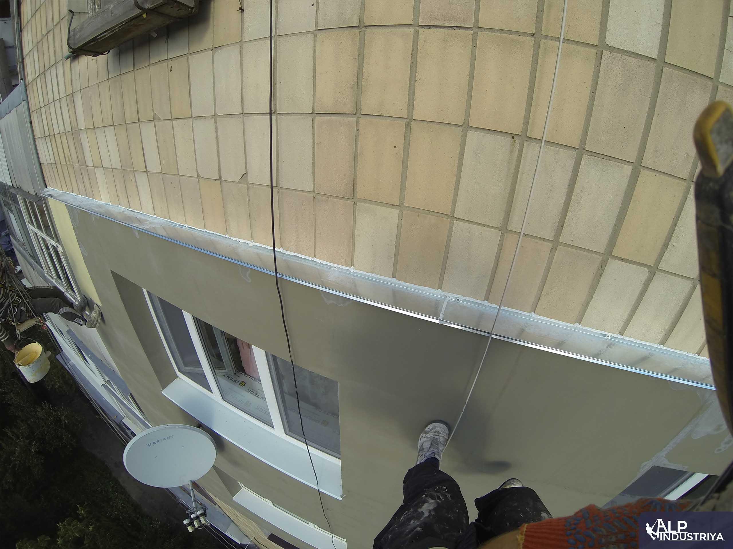 Пример работы по теплоизоляции стен дома одного из наших клиентов-7