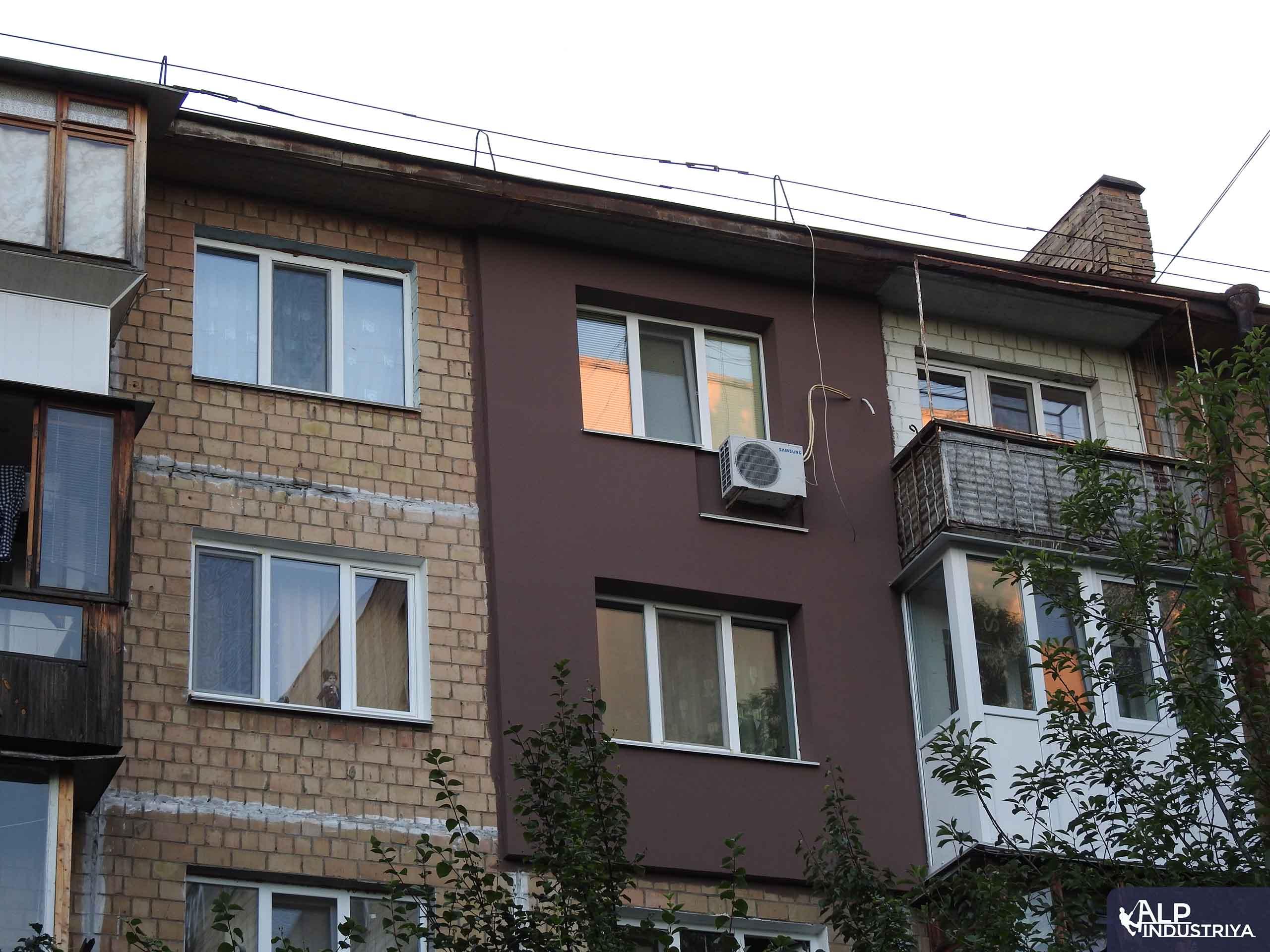 Монтаж утеплителя и отделка стен снаружи дома-1