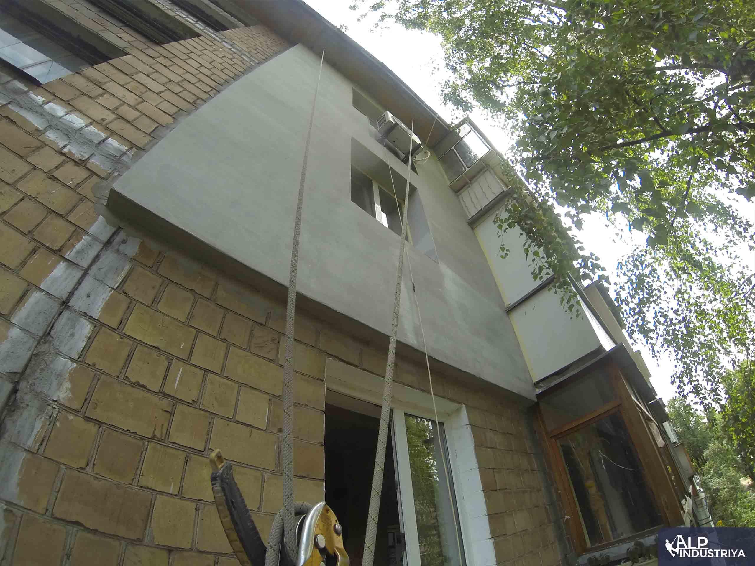 Монтаж утеплителя и отделка стен снаружи дома-5