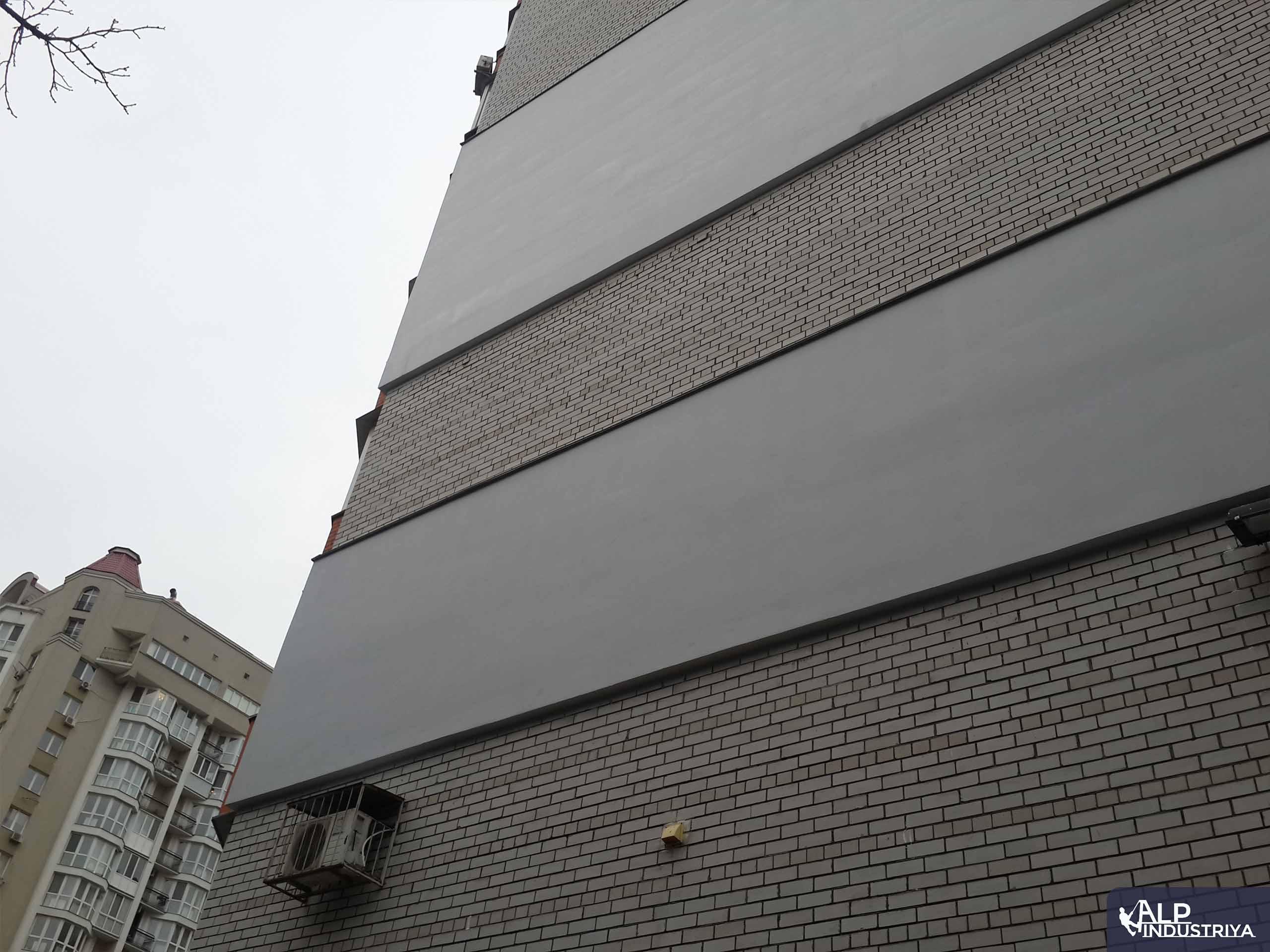 Выполненная работа по монтажу утеплителя, шпаклевке и покраске стен жилья-3