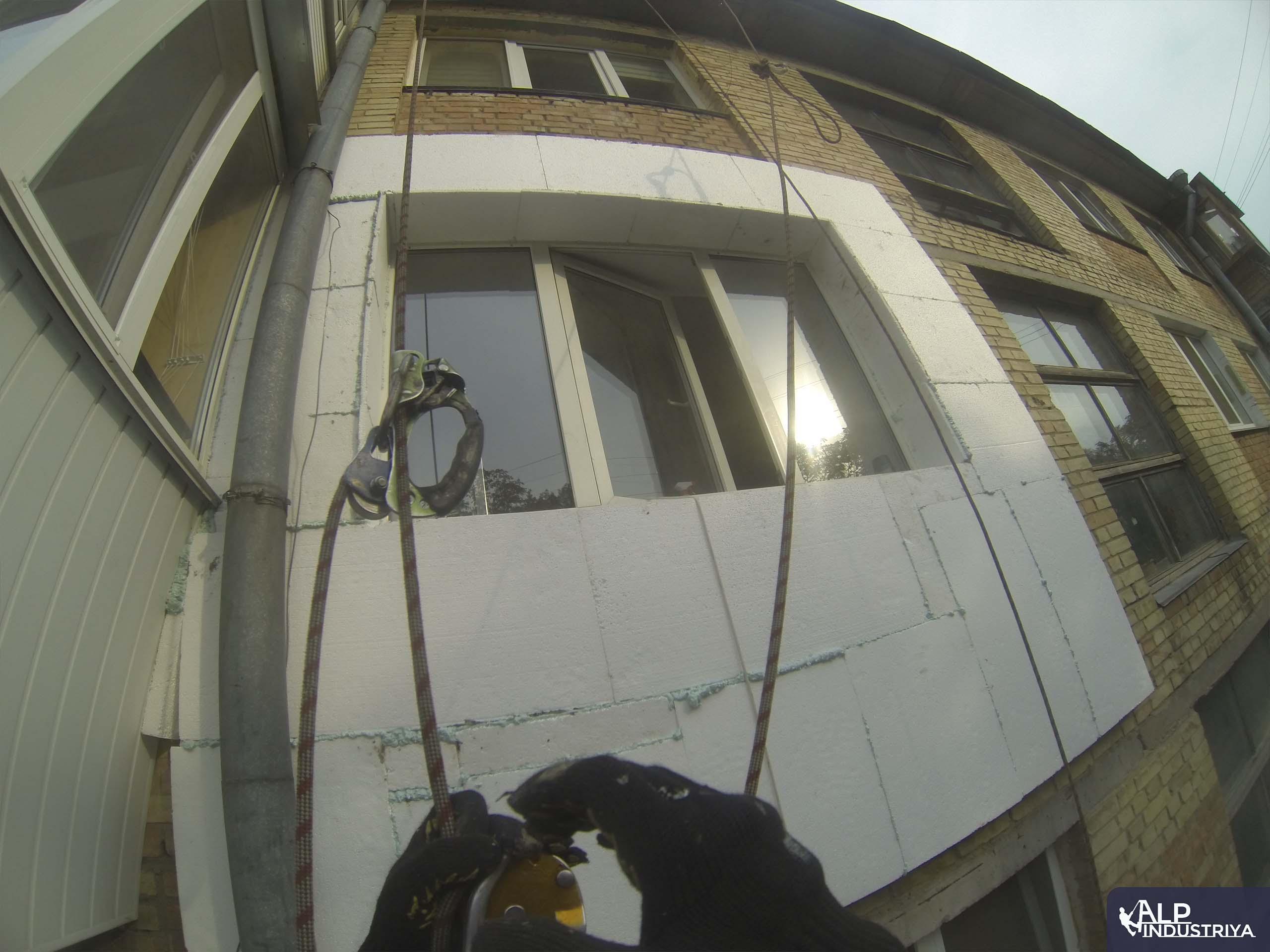 Утепление фасада квартиры нашего клиента-2