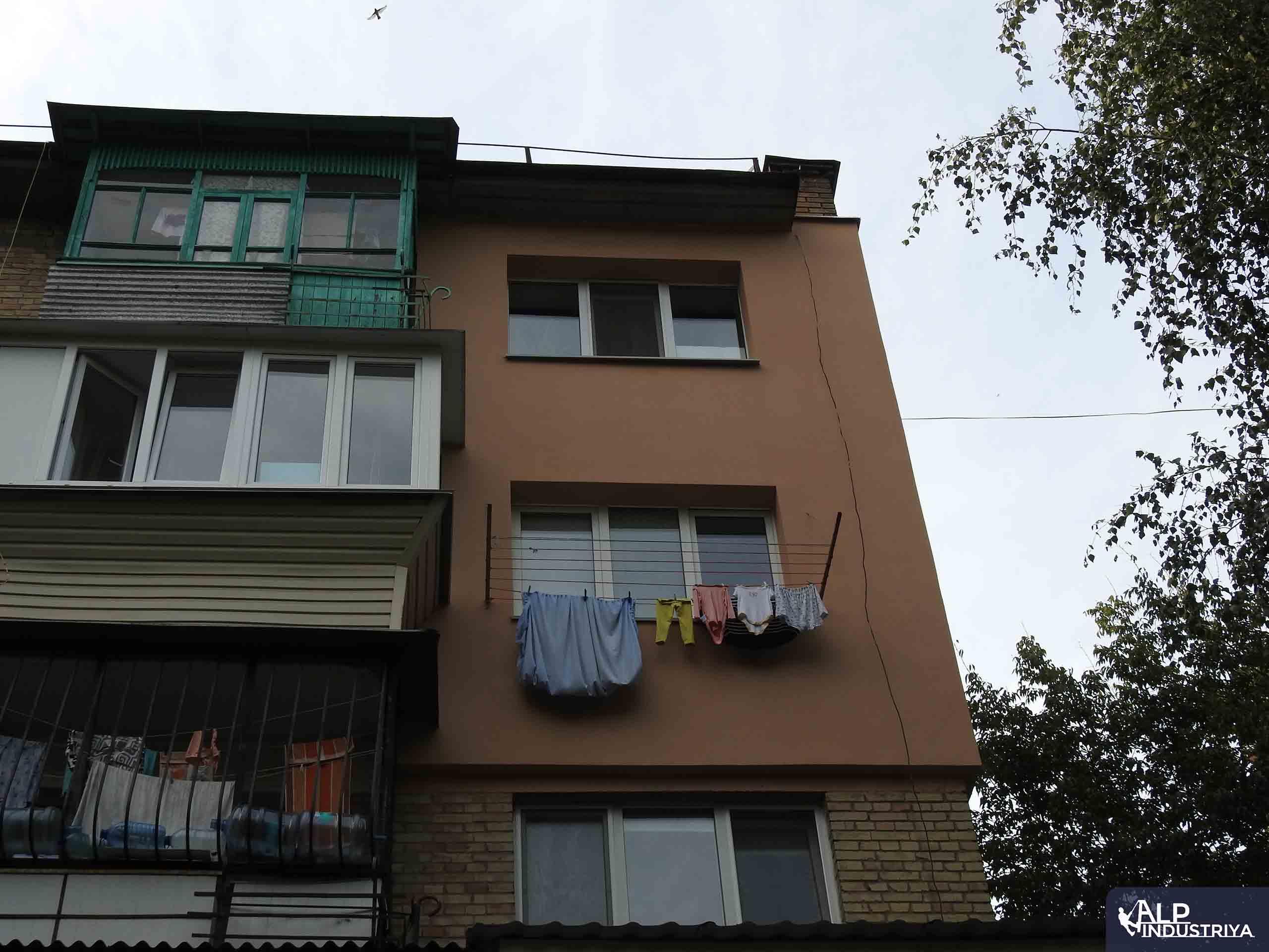 Утепление фасада квартиры нашего клиента-4