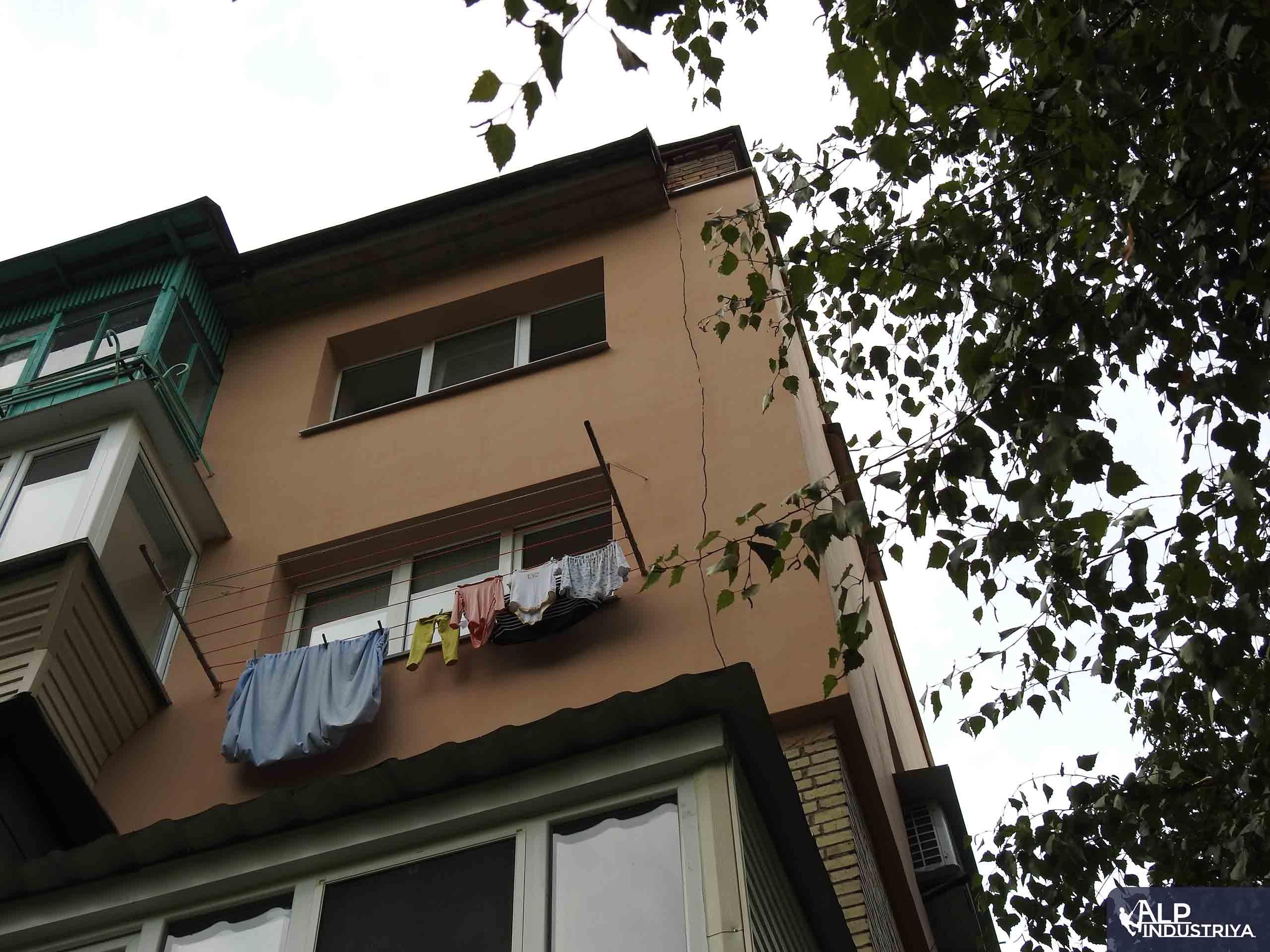 Утепление фасада квартиры нашего клиента-5