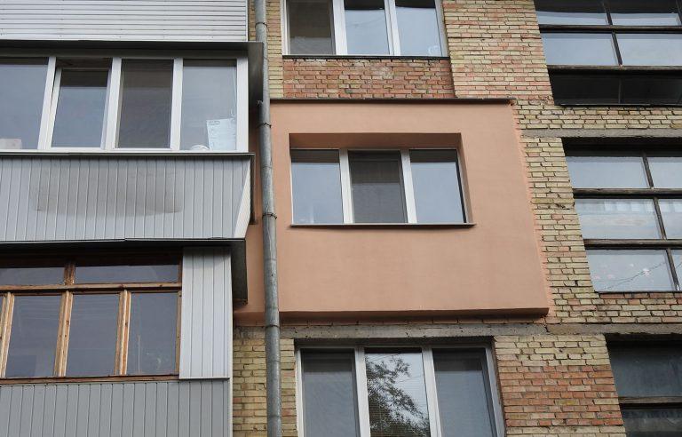 Утепление фасада квартиры нашего клиента!
